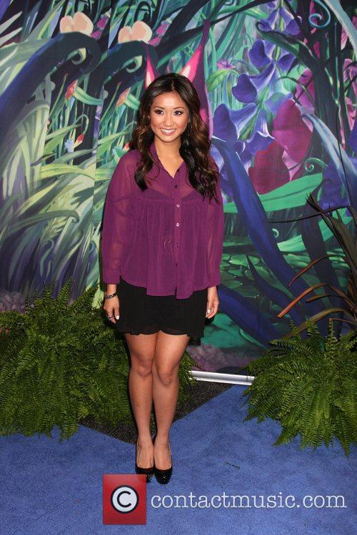 Brenda Song D23 Expo 2011 at the Anaheim...