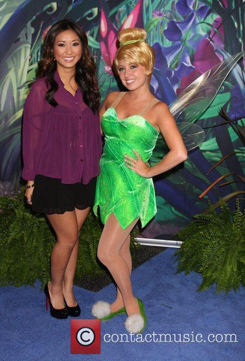 Brenda Song, Tinkerbell D23 Expo 2011 at the...