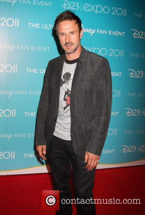 David Arquette D23 Expo 2011 at the Anaheim...