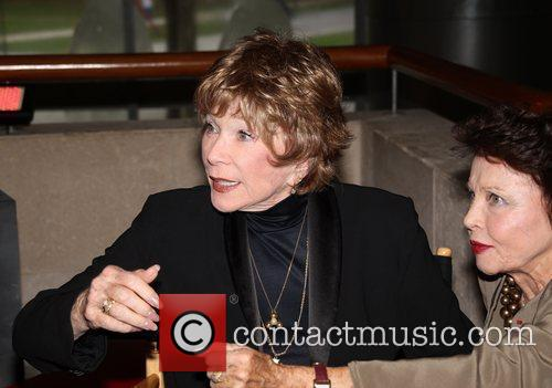 Shirley MacLaine at the Paris cinematheque of Bercy...