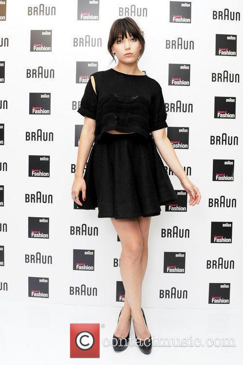 Daisy Lowe at the Braun Sound of Fashion...