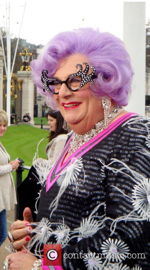 Barry Humphries and Dame Edna Everage 5