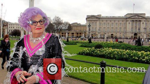 Barry Humphries and Dame Edna Everage 2