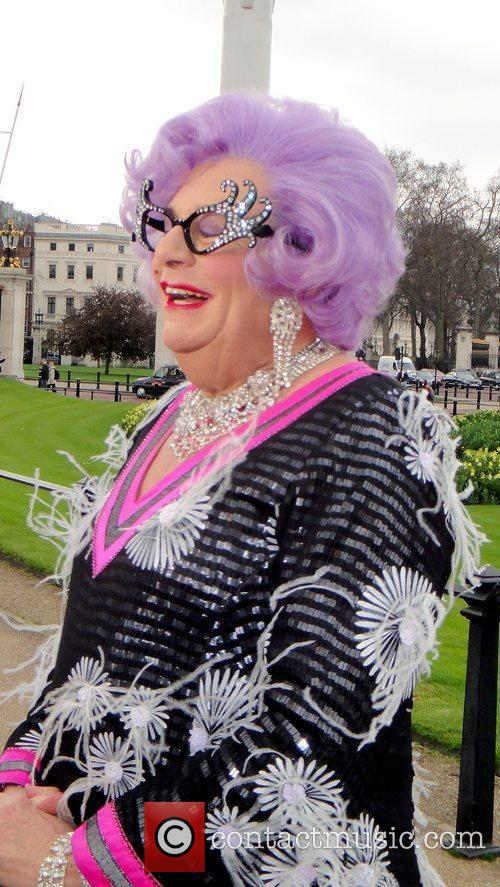 Barry Humphries and Dame Edna Everage 8