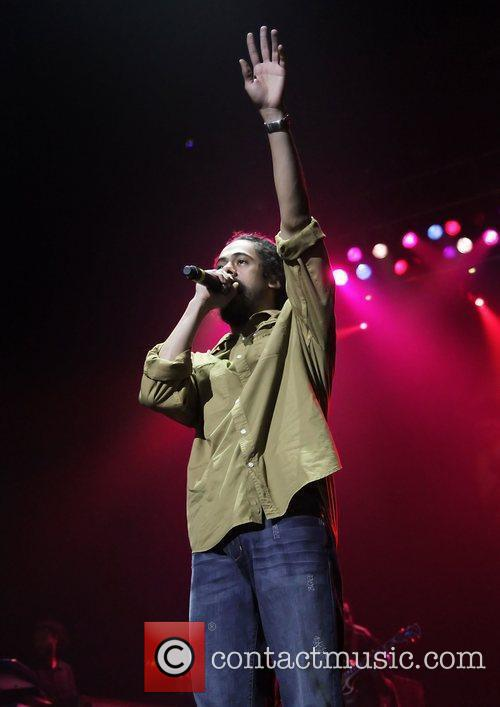 Damian Marley performing at Manchester O2 Apollo Theatre