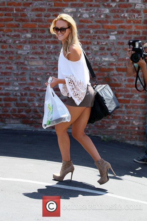 Peta Murgatroyd 'Dancing with the Stars' celebrities outside...