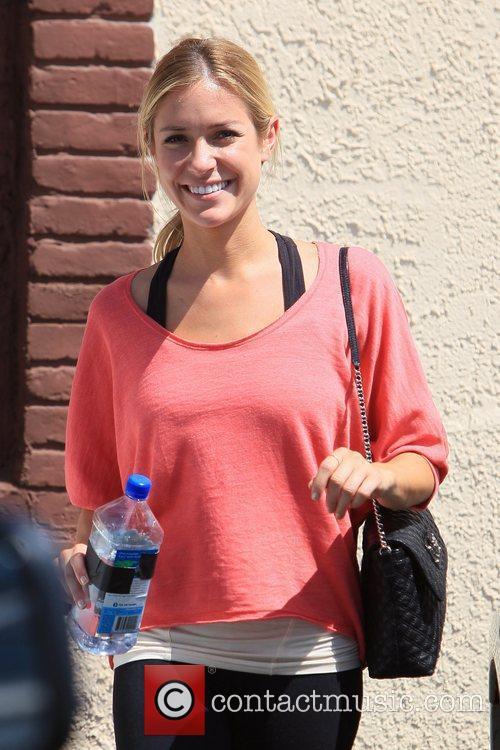 Kristin Cavallari 'Dancing with the Stars' celebrities outside...