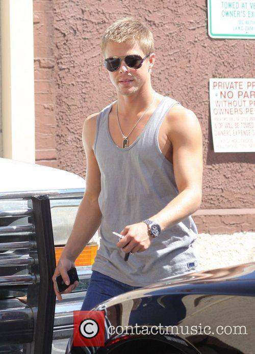 Derek Hough  leaving rehearsals for 'Dancing With...
