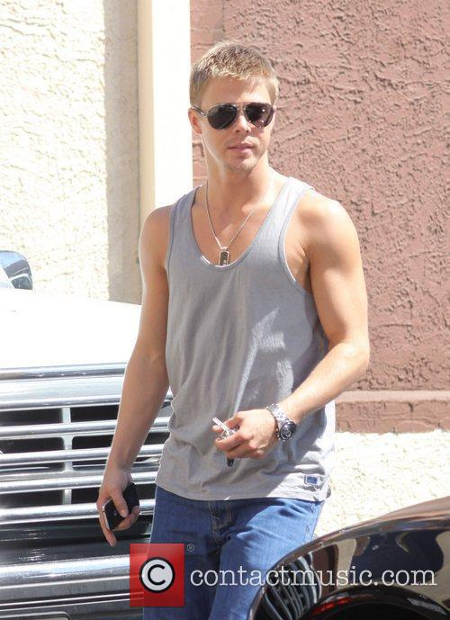 Leaving rehearsals for 'Dancing With the Stars'