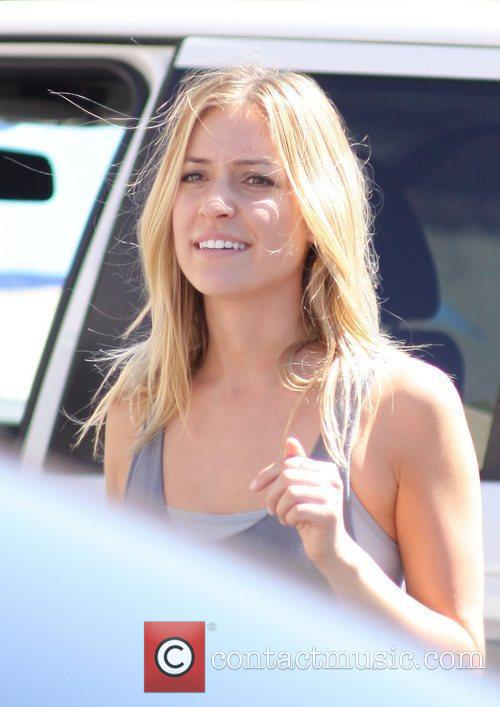 Kristin Cavallari  leaving rehearsals for 'Dancing With...