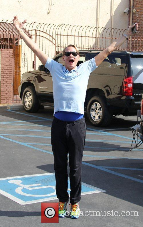 Carson Kressley 'Dancing with the Stars' celebrities outside...