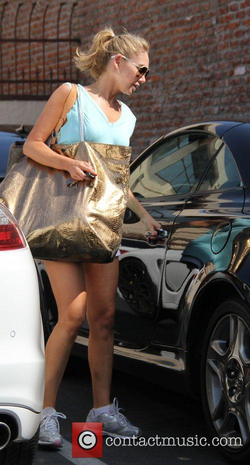 Kym Johnson 'Dancing with the Stars' celebrities outside...