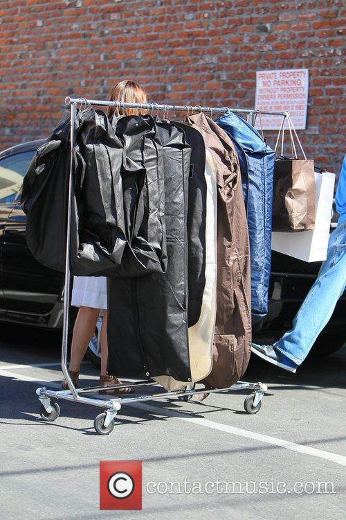 'Dancing with the Stars' celebrities outside the dance...