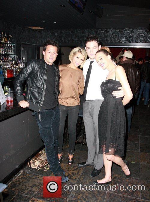 Chelsea Kane and Stephen Colletti with Petra Nemcova...
