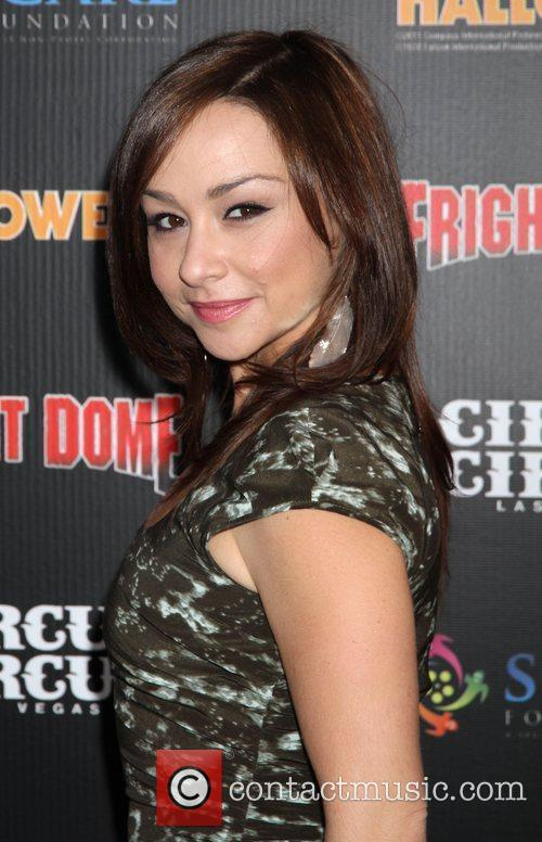 danielle harris makes a special appearance at 3558642