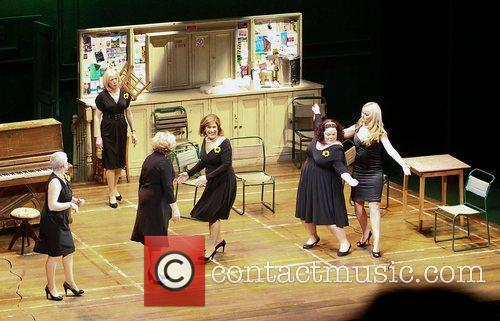 Performance of 'Calendar Girls' at the Bristol Hippodrome.