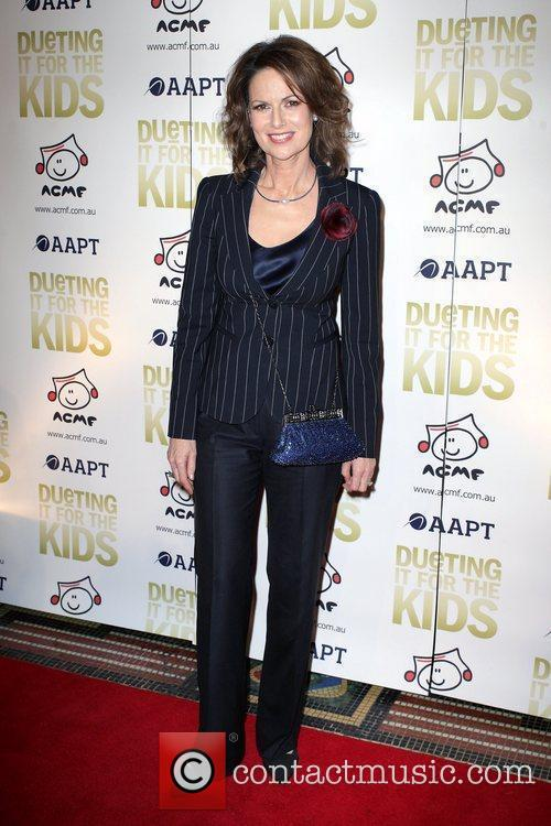 Ann Sanders Danielle Spencer, wife of Russell Crowe,...