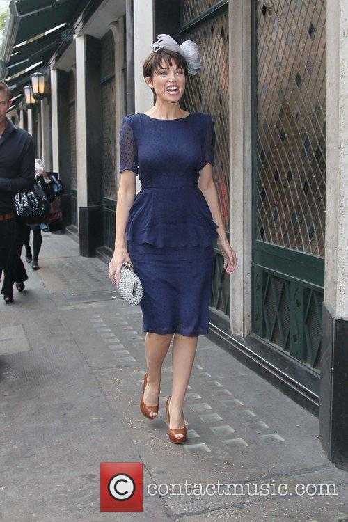 Dannii Minogue at The Ivy restaurant London, England