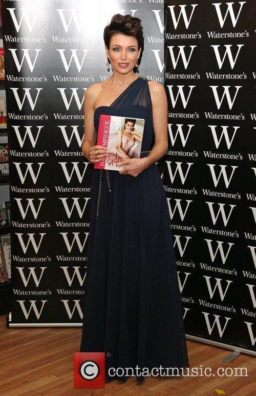 Dannii Minogue signs copies of her book 'My...