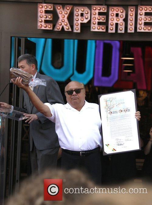 Danny Devito, Star On The Hollywood Walk Of Fame