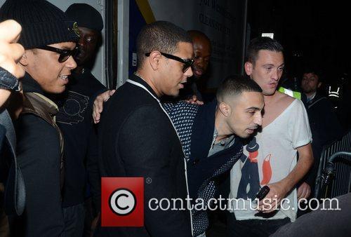 Adam Deacon  celebrities arrive at Movida to...