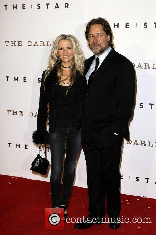 Russell Crowe and Danielle Spencer 2