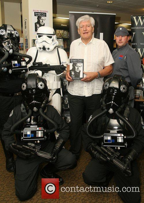 Launches his autobiography 'Straight From the Force's Mouth'...