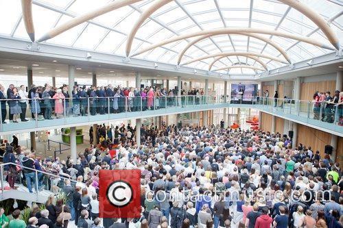 Atmopshere Sir David Attenborough officially opens Nottingham Trent...