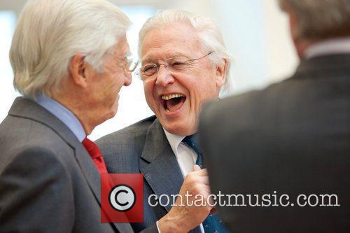David Attenborough and Michael Parkinson 2