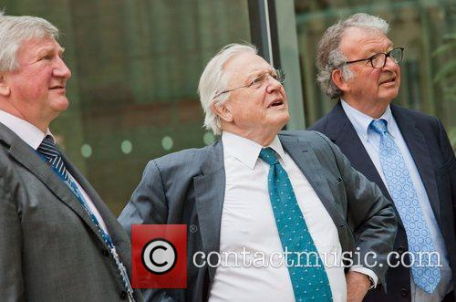 David Attenborough and Michael Parkinson 8