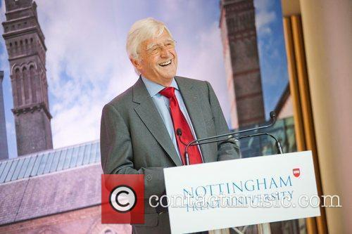 Sir David Attenborough officially opens Nottingham Trent University's...