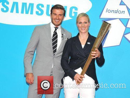 David Beckham and Zara Phillips 6