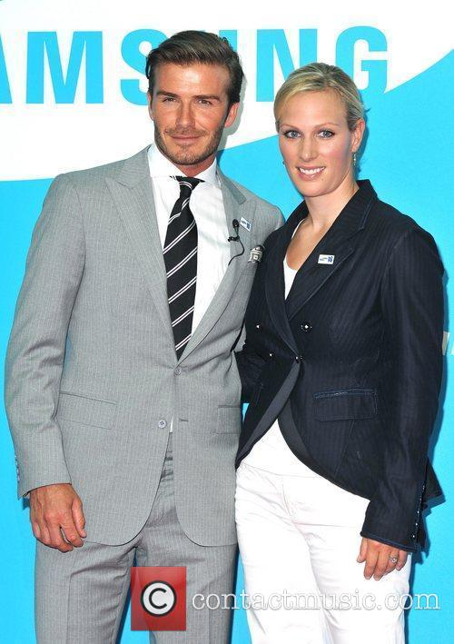 David Beckham and Zara Phillips 9