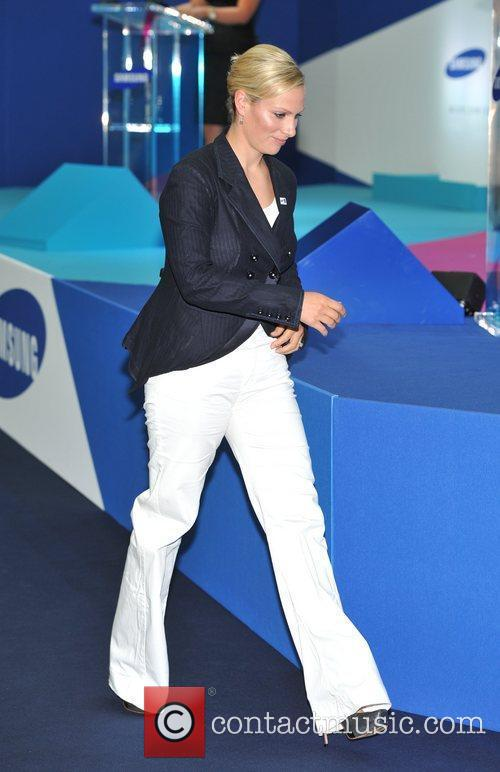 Zara Phillips The launch of Samsung's Everyone's Olympic...