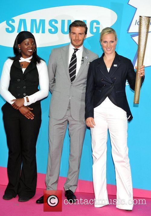 David Beckham and Zara Phillips 14