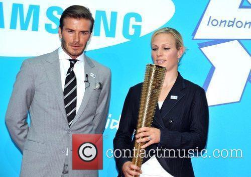 David Beckham and Zara Phillips 10