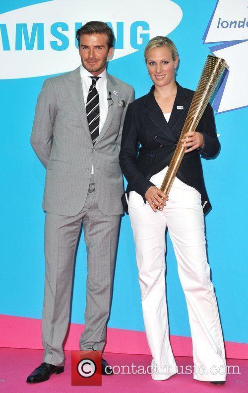 David Beckham and Zara Phillips 4