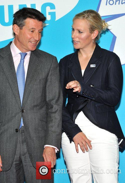 Zara Phillips and Lord Seb Coe Everyone's Olympic...