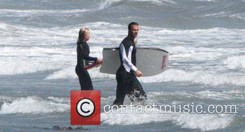 David Beckham, Malibu Beach