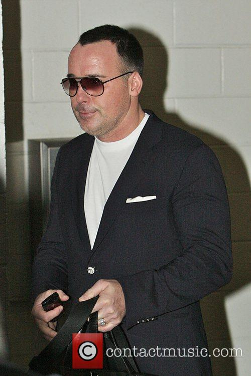 David Furnish seen leaving a medical building in...