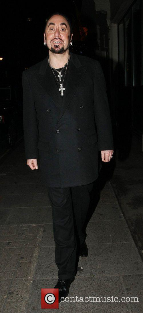 David Guest on a night out with friends...
