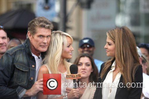 David Hasselhoff and Maria Menounos 3