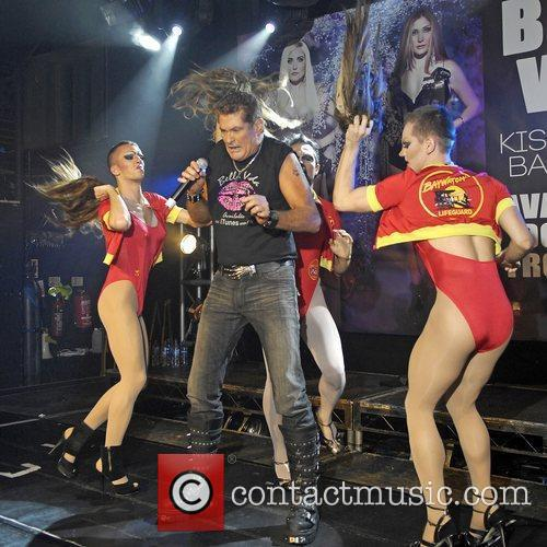 David Hasselhoff performing live at G-A-Y London, England...