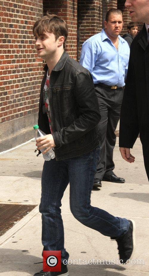 Daniel Radcliffe 'The Late Show with David Letterman'...