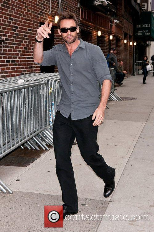 Hugh Jackman  'The Late Show With David...