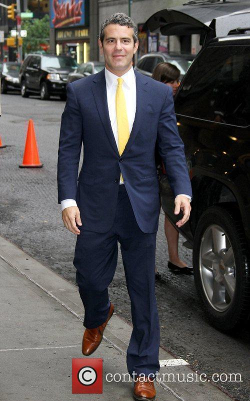 Andy Cohen 'The Late Show with David Letterman'...