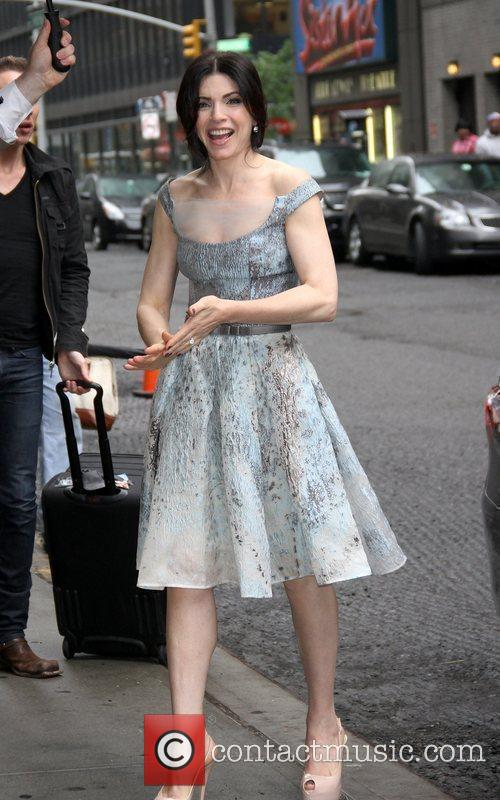 Juliana Margulies 'The Late Show with David Letterman'...