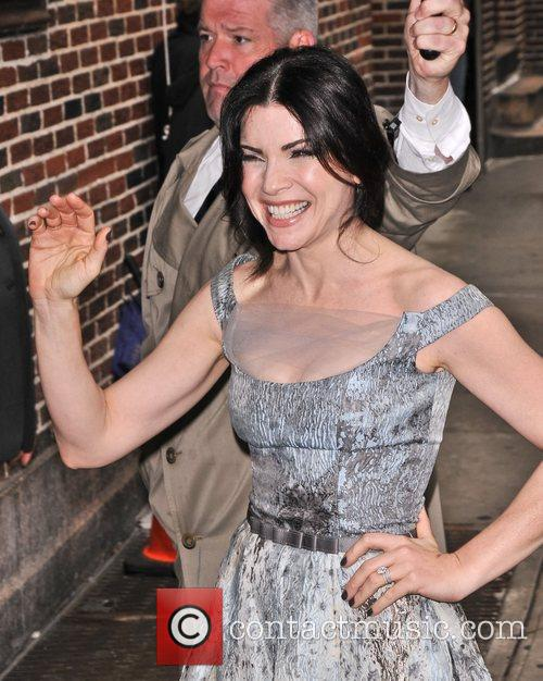 Julianna Margulies 'The Late Show with David Letterman'...