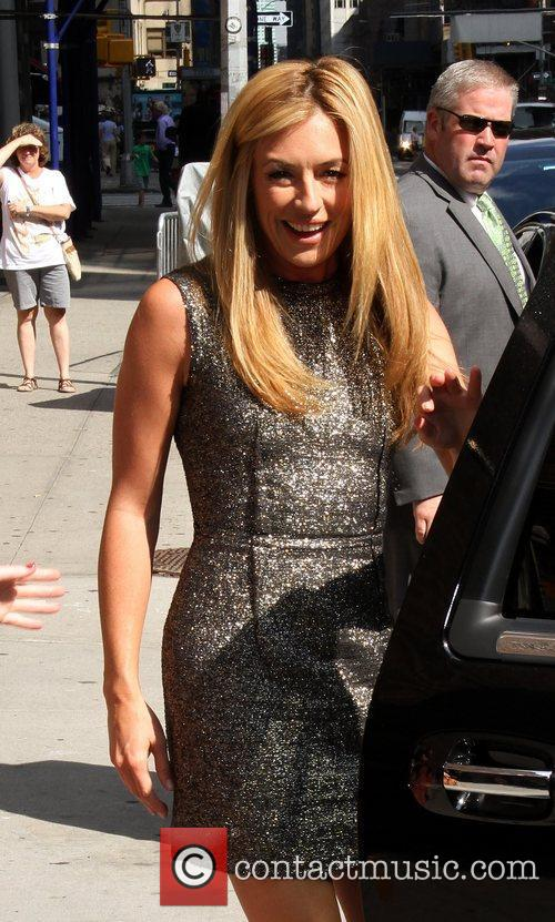 Cat Deeley 'The Late Show with David Letterman'...