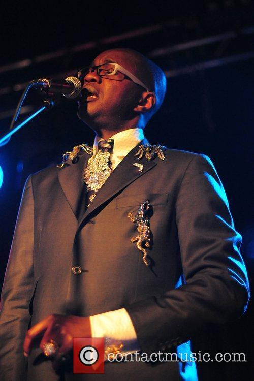 David McAlmont performing live at the O2 Academy...
